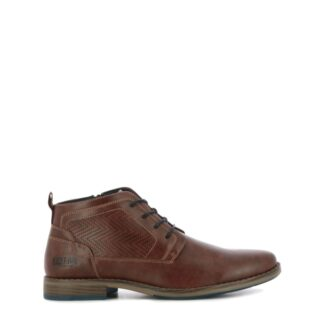 pronti-000-1v5-kust-up-boots-bottines-chaussures-a-lacets-brun-fr-1p
