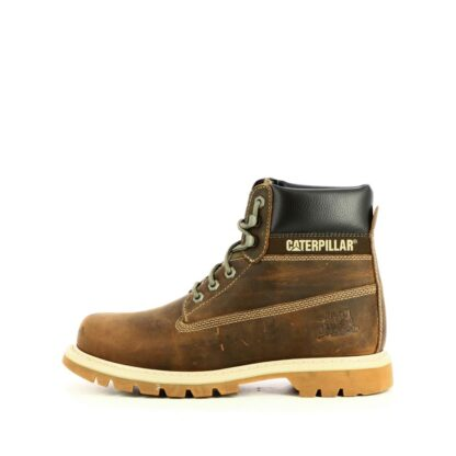 pronti-113-2n0-caterpillar-boots-bottines-chaussures-a-lacets-taupe-fr-1p