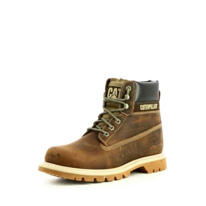 pronti-113-2n0-caterpillar-boots-bottines-chaussures-a-lacets-taupe-fr-2p