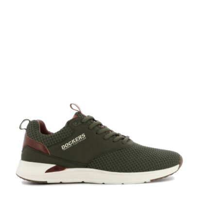 pronti-157-0z3-dockers-baskets-sneakers-chaussures-a-lacets-kaki-fr-1p