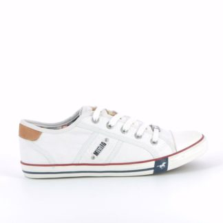 pronti-232-0t1-mustang-baskets-sneakers-chaussures-a-lacets-toiles-blanc-fr-1p
