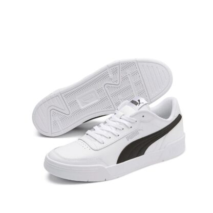pronti-762-8f5-puma-baskets-sneakers-chaussures-a-lacets-blanc-puma-caracal-fr-1p