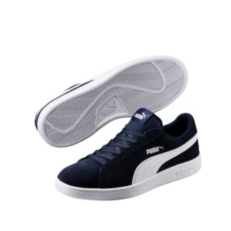 pronti-764-2c4-puma-baskets-sneakers-chaussures-a-lacets-bleu-marine-smash-v2-fr-1p