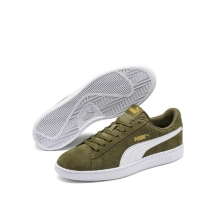 pronti-767-2c4-puma-baskets-sneakers-chaussures-a-lacets-kaki-puma-smash-v2-fr-1p